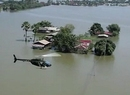 Wielka powódź w Tajlandii z lotu ptaka